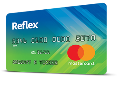 Reflex mastercard the reflex mastercard will report your payment activity monthly to the three major credit bureaus debit card use doesnt appear anywhere on your credit reheart Choice Image