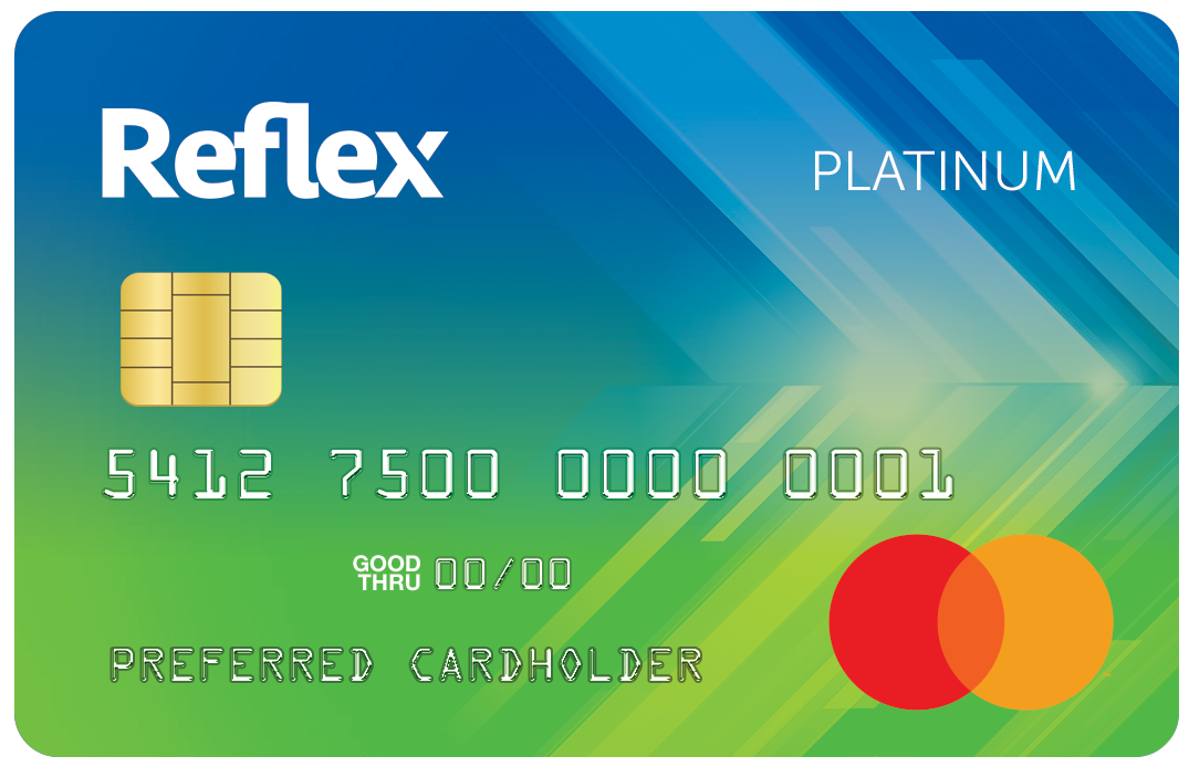 Reflex mastercard if you make on time minimum payments and maintain your balances under the credit limits you may be able to build rebuild or reestablish your credit reheart Gallery